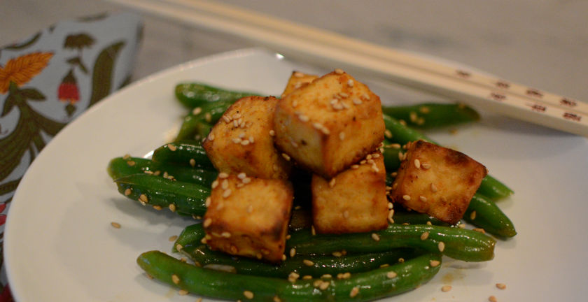 Baked Crispy Tofu with Peanut Dipping Sauce - Pamela's Gluten Free and ...
