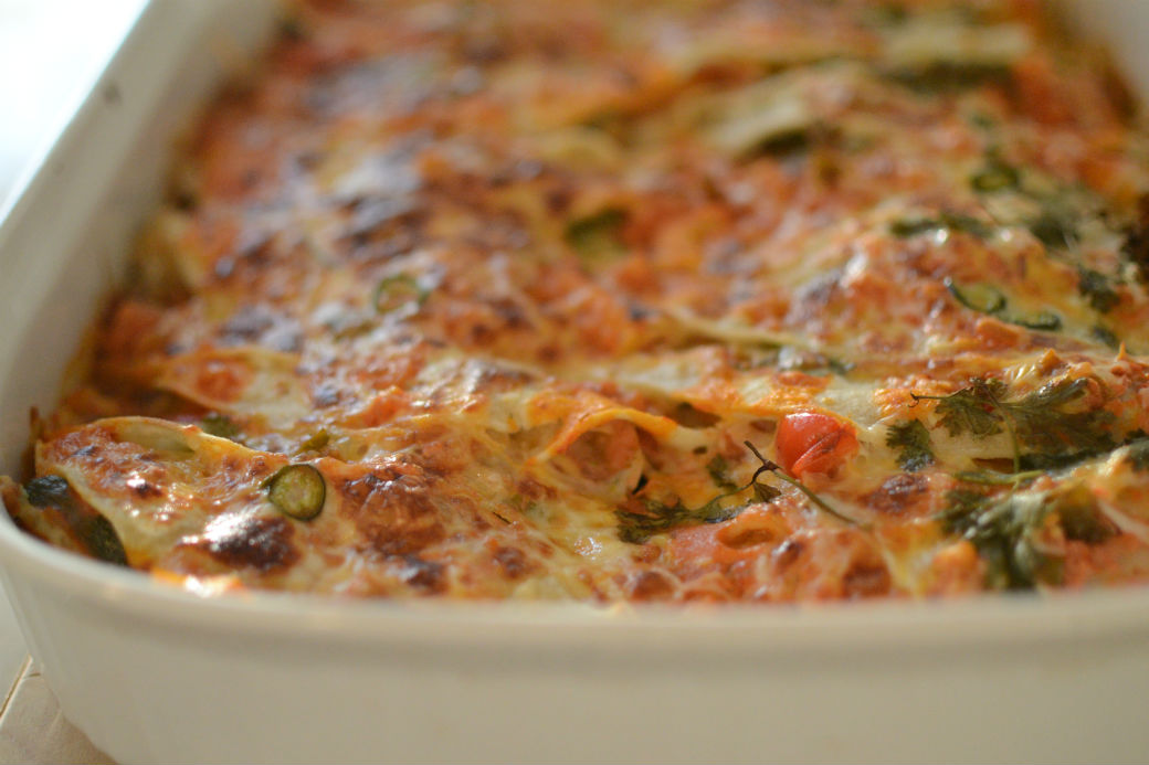 Mexican Lasagna - Gluten Free