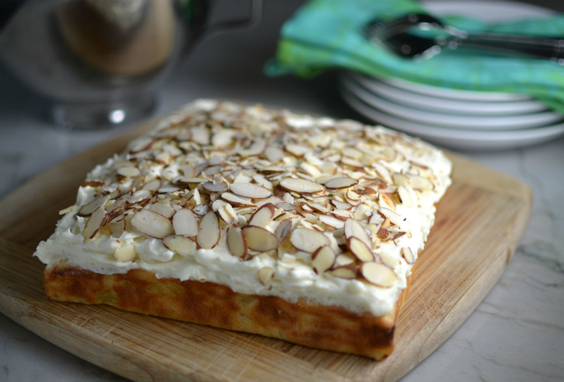 Pineapple Toasted Almond Cake Gluten Free
