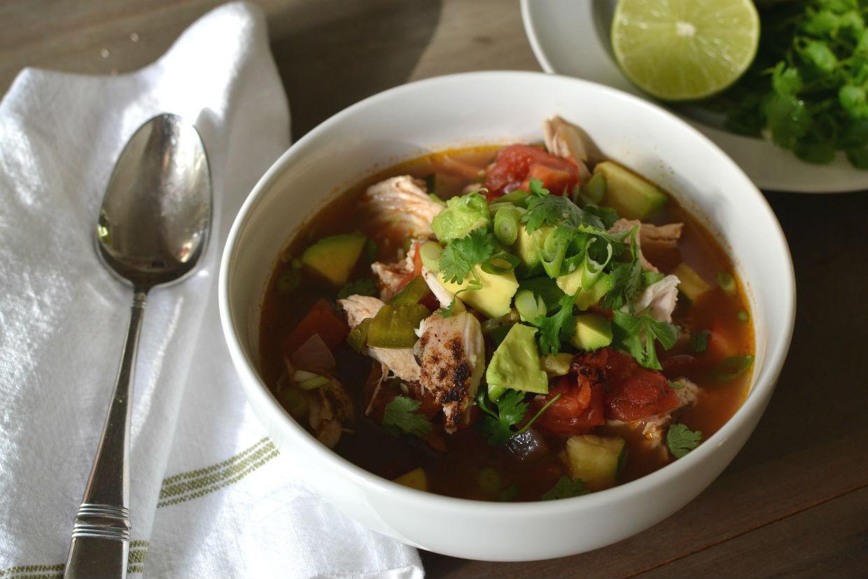 Mexican Chicken Tortilla Soup Recipe — Dishmaps