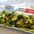 Shaved Brussels Sprout and Kale Salad