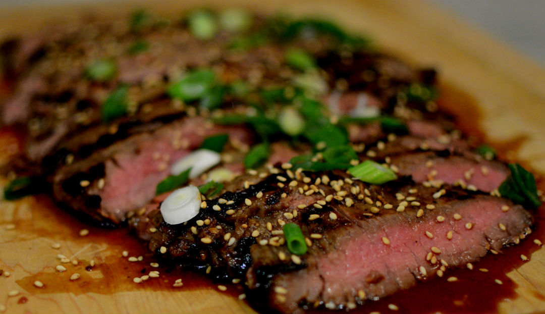 Asian Flank Steak With Scallions And Sesame Seeds Pamela S Gluten Free And Autoimmune Recipes